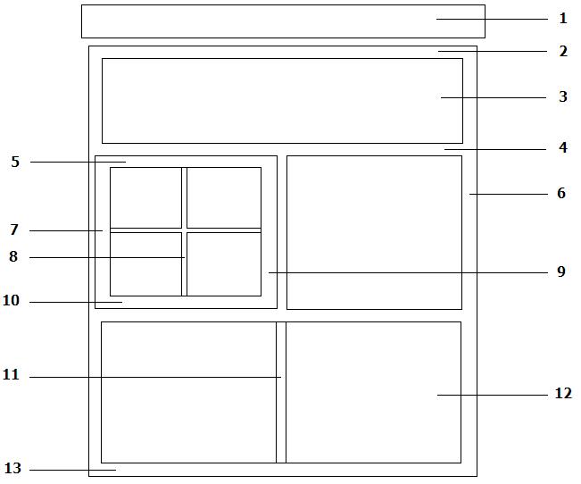 elementy konstrukcyjne okna